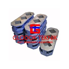 Cement Cube Mold-Cetakan Mortar-Peralatan Sipil
