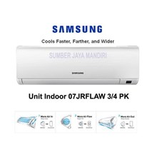AC Air Conditioner AC SAMSUNG 0.75 PK 07 KRFLAW