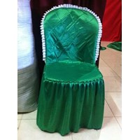 sarung kursi hijau
