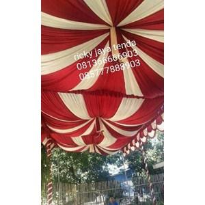 plafon dekor tenda pesta 01