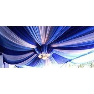 Plafon Tenda Pesta DPRS Biru putih