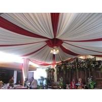 Plafon Tenda Pesta Balon DPRS Merah Putih 1