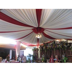 Plafon Tenda Pesta Balon DPRS Merah Putih