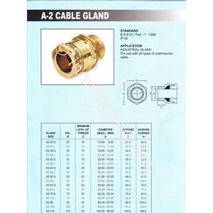Dari CABLE GLAND Unibell A2 Anarmoured 1
