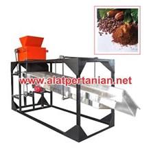 Mesin Pemecah Buah Pemisah Biji Kakao