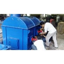 MESIN INCINERATOR DOUBLE BURNER KAPASITAS 20 KG