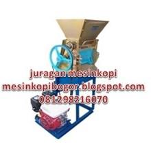 Mesin pengolah biji kopi - Mesin Pulper Kopi Pengalengan Bandung