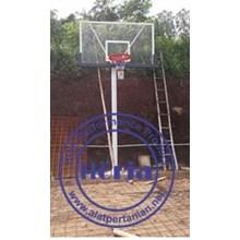 Jual Tiang Bola Basket Sistem Tanam