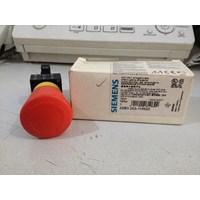 Jual Siemens 3Sb3203-1Hr20 Pushbutton Red Plastic Round 22Mm