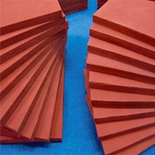 Sponge Silicone Rubber Red