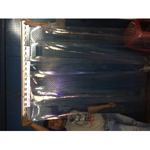 Plastic curtain cold-temperature super polar