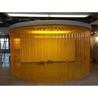 pvc curtain kuning anti insect