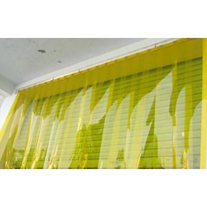 Dari pvc curtain yellow orange  1