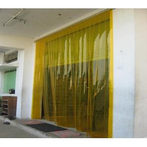 Dari pvc curtain yellow orange  2