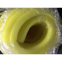 Yellow foam sponges, flat 1
