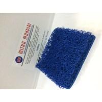 Jual karet keset mie karet keset cacing karpet mobil warna biru 2