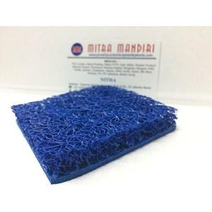 karet keset mie karet keset cacing karpet mobil warna biru