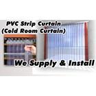 Plastic Strip Curtain PVC Cold Room ( Cold Storage ) 2