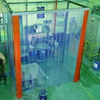 Distributor Plastic Strip Curtain PVC Cold Room ( Cold Storage ) 3