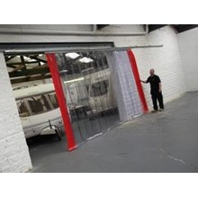 Harga Plastic Strip Curtain PVC