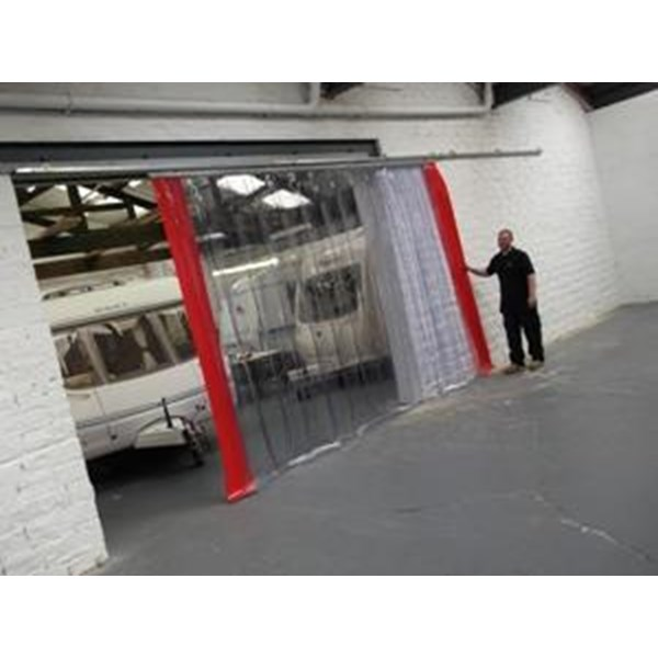Harga Plastic Strip Curtain PVC