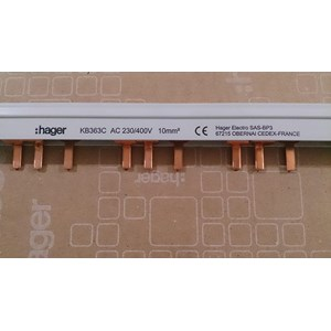 From Busbar MCB Hager KB363C 0