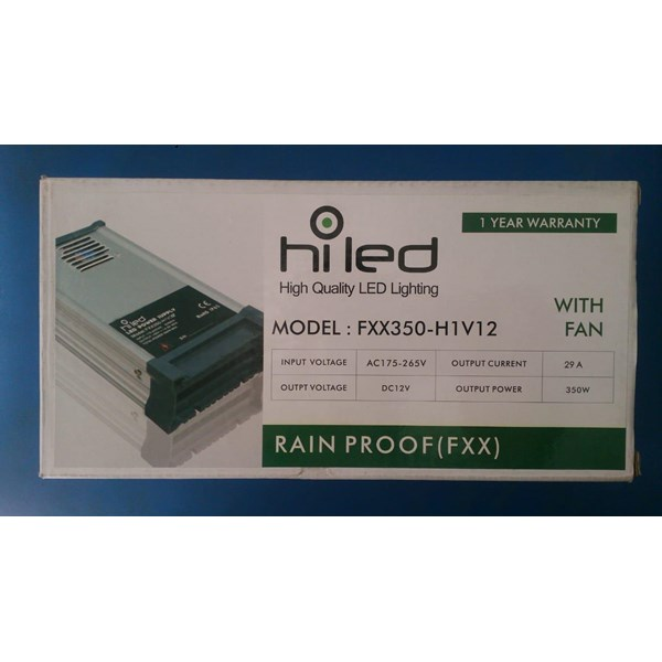 Adaptor AC/DC Hiled outdoor output 12 Vdc