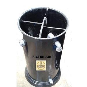 Bak Fiberglass Filter Tabung
