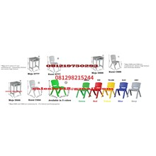 Meja dan Kursi Sekolah TK SD SMP SMA Kuliah Kursi Plastik