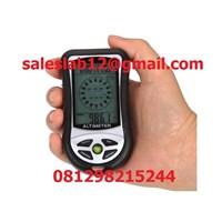 Jual Barometer Alat Ukur Tekanan Udara Altimeter Compass Barometer 8 IN 1 TIPE KMDA8