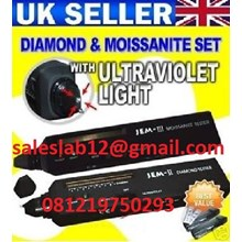 Alat Laboratorium Diamond Tester JEM II & Moissanite Tester JEM III (2pcs set)