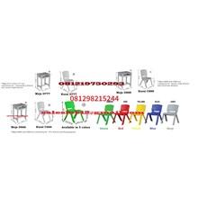 Meja dan Kursi Sekolah Plastik Sekolah