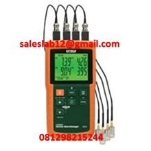 4 Channel Datalogging Thermometer type SDL200 Brand Extech