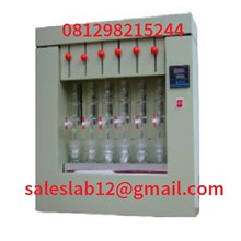 Alat Laboratorium Soxhlet Extraction Fat Analyzer analisa asam lemak