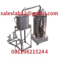 Jual Alat Laboratorium Mesin Destilasi Vacuum Minyak Atsiri Mesin