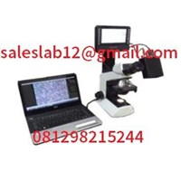 Mikroskop Binokuler Binocular Microscope with camera laptop
