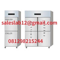 Fridge and Freezer Chiller Freezer Combination for storage of medicines or meat-20 degrees to + 2 degrees