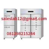 Kulkas dan Freezer Chiller Kombinasi Freezer untuk Penyimpanan Obat atau daging -20 derajat ~ +2 derajat