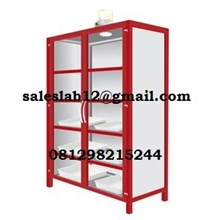 Meja Laboratorium Chemical Storage Cabinet