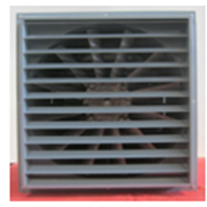 Axial Fan complete Shutter and filter