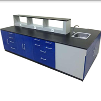 Furniture Laboratorium Meja Laboratorium Model LDI-02 1