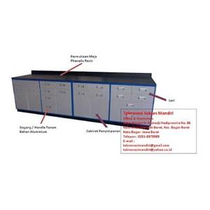 Meja dan Kursi Sekolah Meja Laboratorium  WBM-01