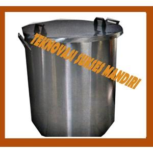 Dari Mesin Sterilisasi Makanan Dandang Perebusan Kedelai - Mesin Proses Tempe 1