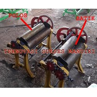 Jual Mesin Press Karet  - Hand Mangel karet