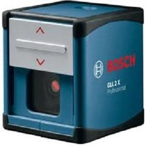 Meteran Laser Bosch Gll 2X Cross Line Laser Level