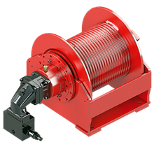 Hydraulic Hoisting Winch Type SE 45V