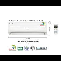 Jual AC PANASONIC STANDARD 0.5 PK TYPE : CS-YN 5 SKJ + CU-YN 5 SKJ