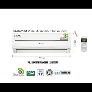 AC PANASONIC STANDARD 0.5 PK TYPE : CS-YN 5 SKJ + CU-YN 5 SKJ