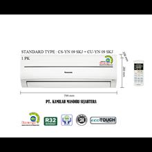 AC PANASONIC STANDARD 1 PK TYPE : CS-YN 9 SKJ + CU