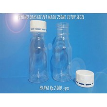 PET plastic bottle of Terrible promo Honey 250 ml